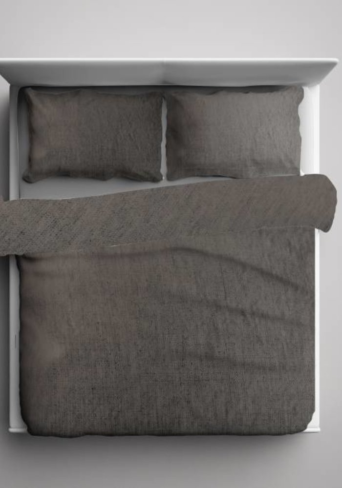 Duvet Cover Pierre Cardin Washed Linnen Taupe