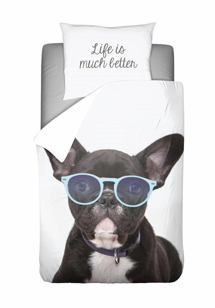 Dekbedovertrek French Bulldog