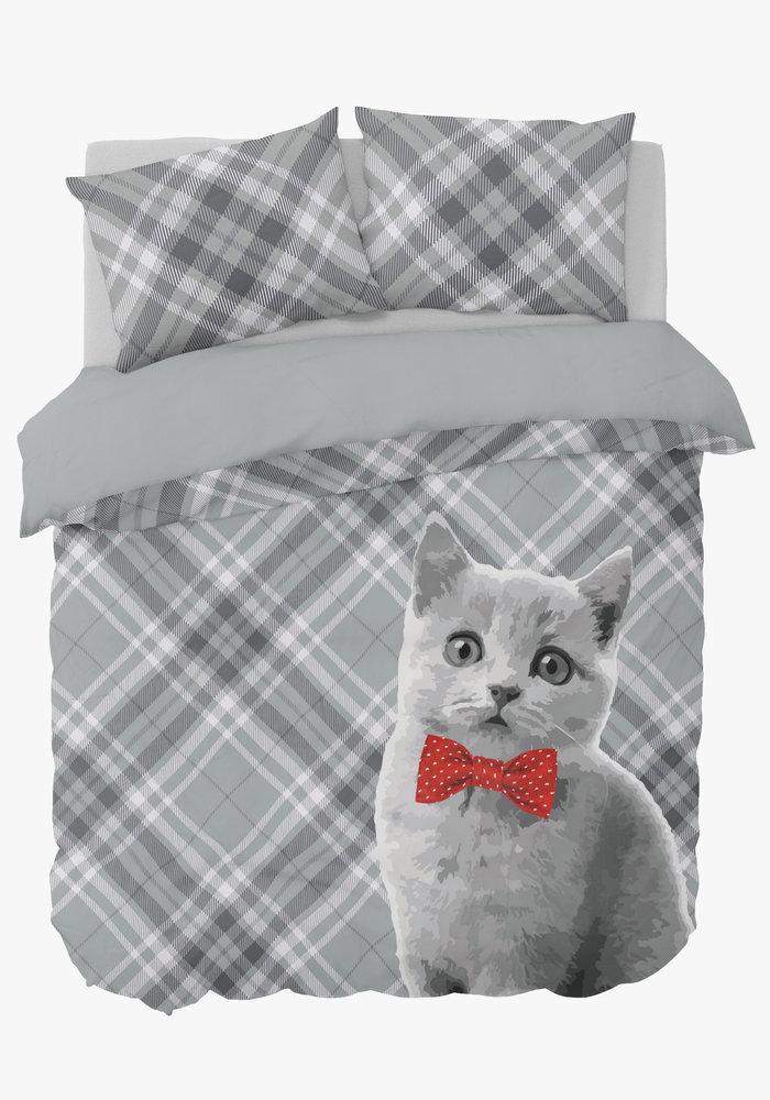 Dekbedovertrek Cat Bowtie