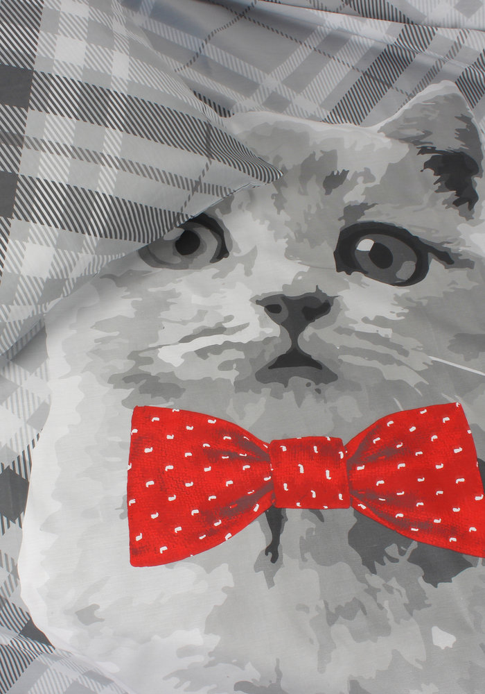 Duvet Cover Cat Bowtie