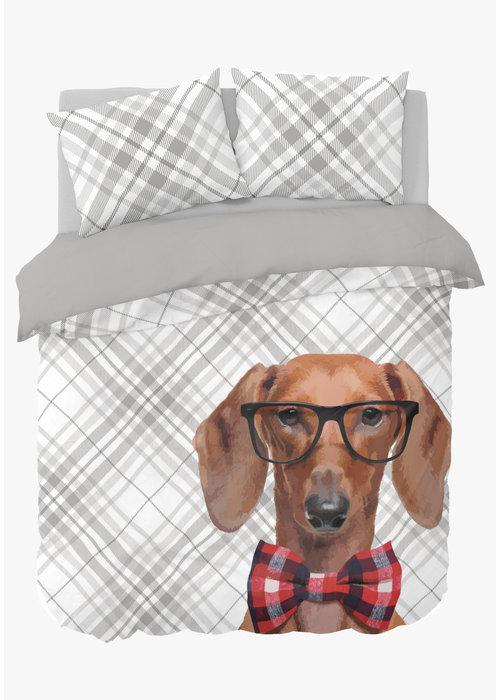 Nightlife Duvet Cover Dog Bowtie