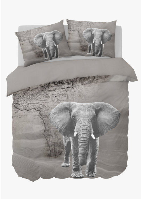 Nightlife Duvet Cover African Elephant