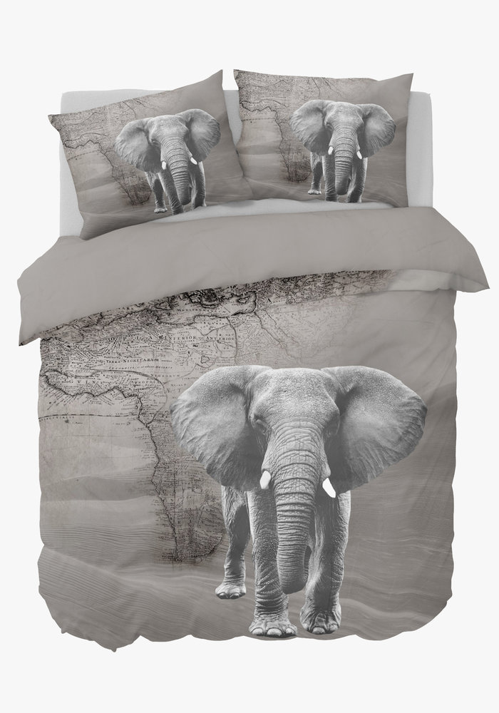 Dekbedovertrek African Elephant