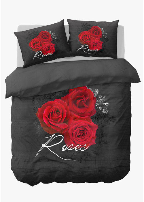 Nightlife Duvet Cover Flower Rose