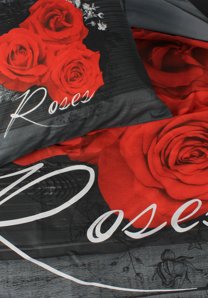 Duvet Cover Flower Rose