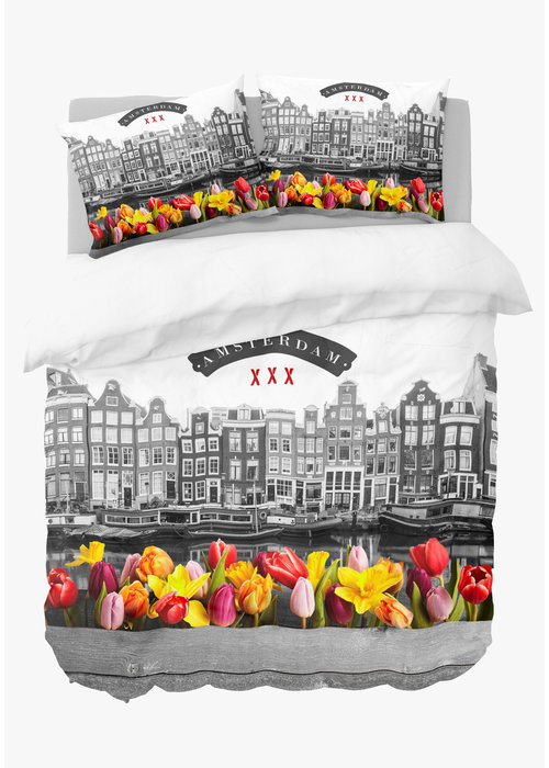 Nightlife Dekbedovertrek Amsterdam Tulips