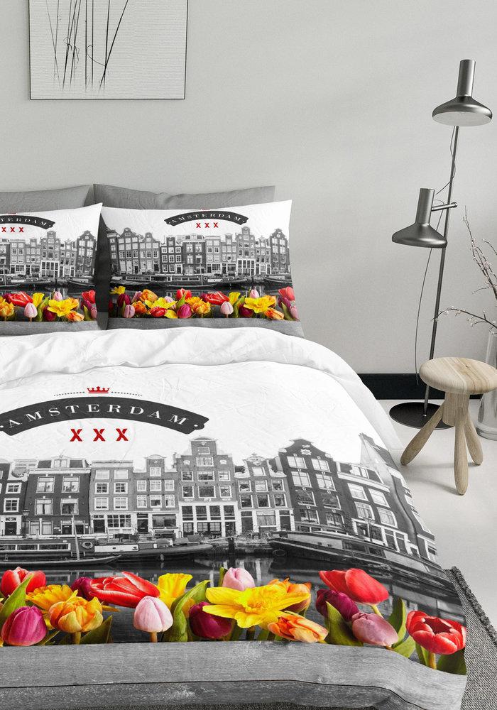 Dekbedovertrek Amsterdam Tulips
