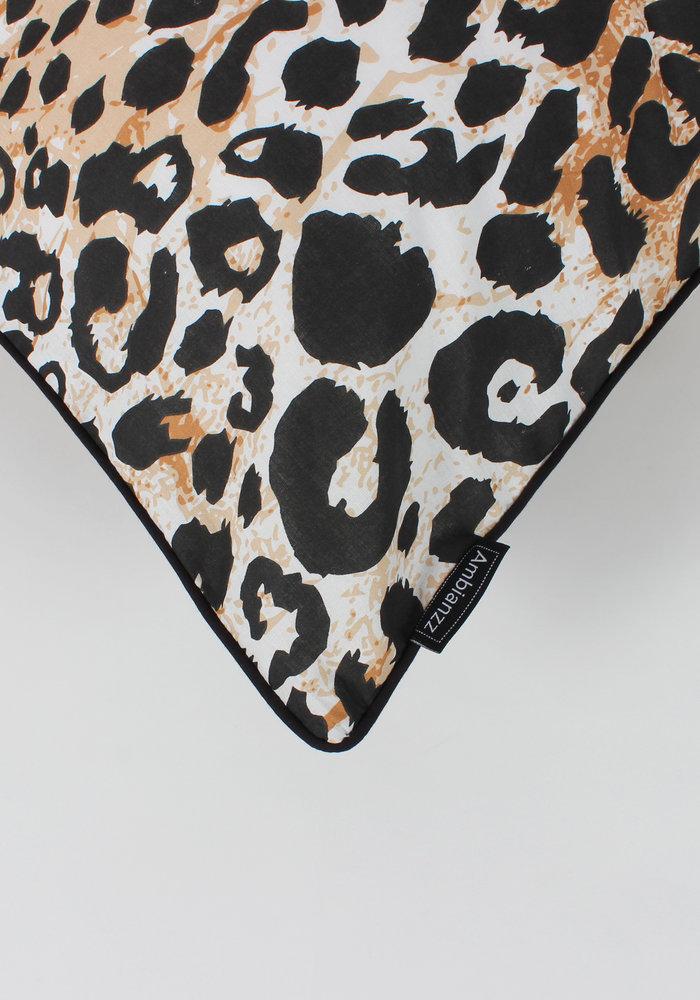 Dekbedovertrek Leopard Skin Naturel
