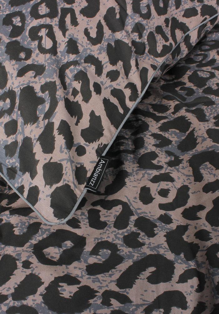 Duvet Cover Leopard Skin Blauw