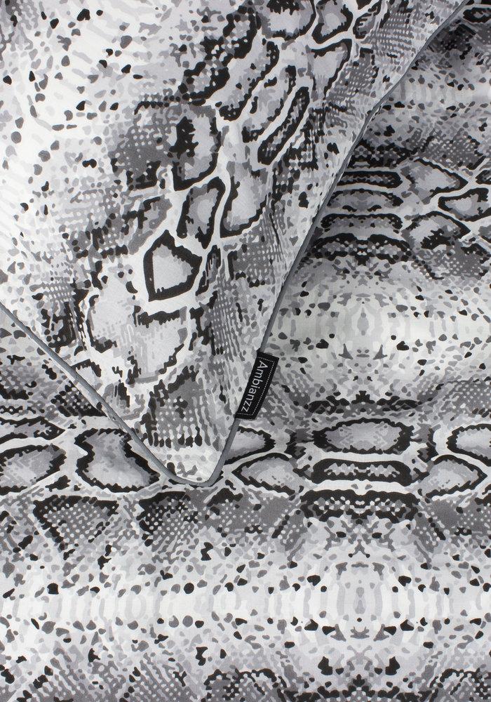 Dekbedovertrek Python Skin Grijs