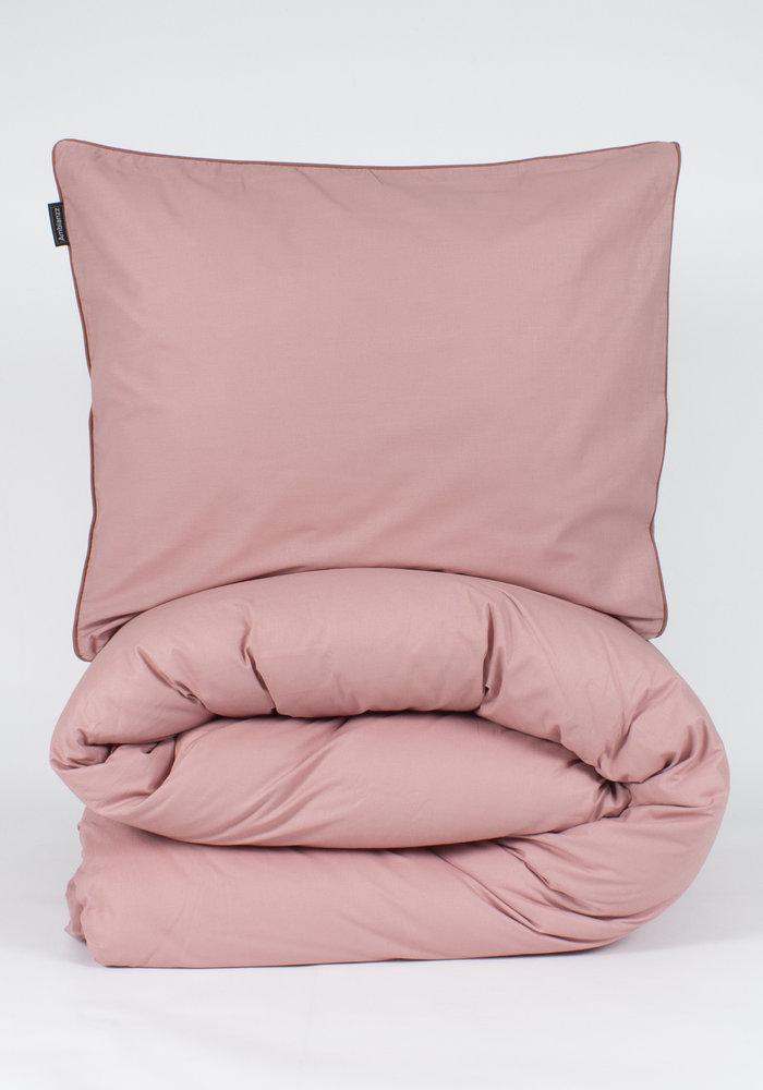 Duvet Cover Cotton Solid Roze