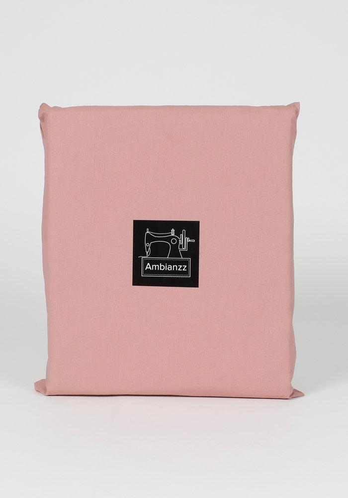 Dekbedovertrek Cotton Solid Roze