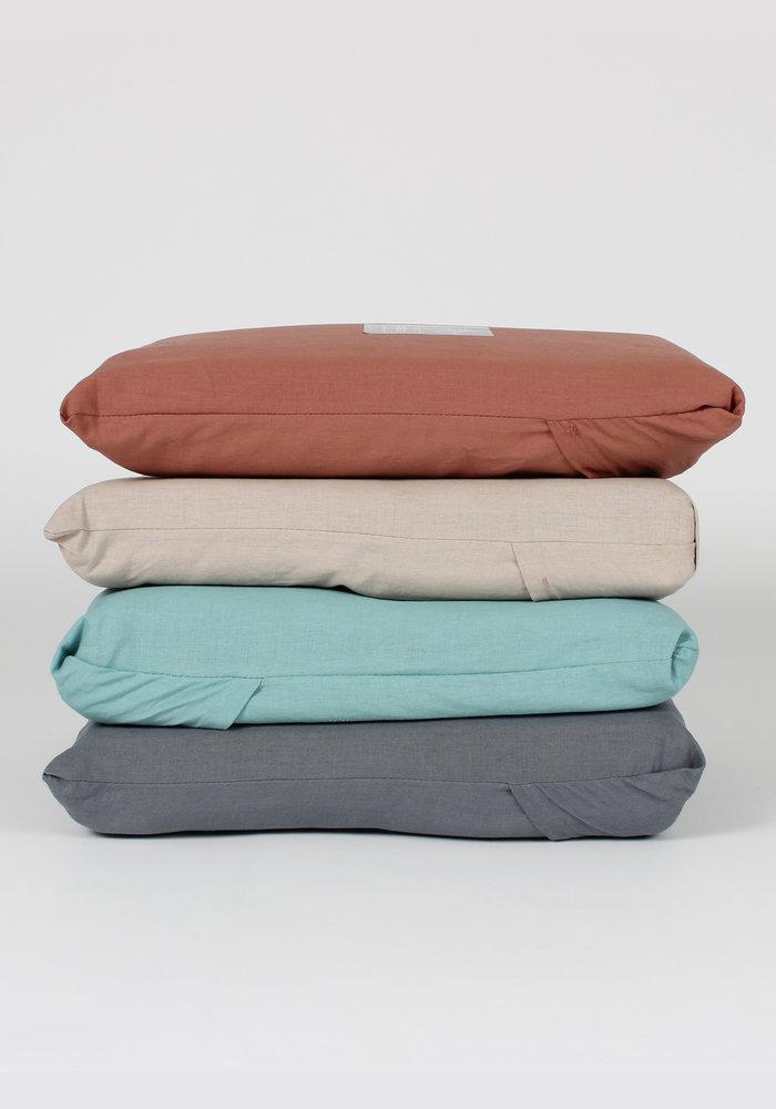 Duvet Cover Vintage Washed Cotton Antraciet