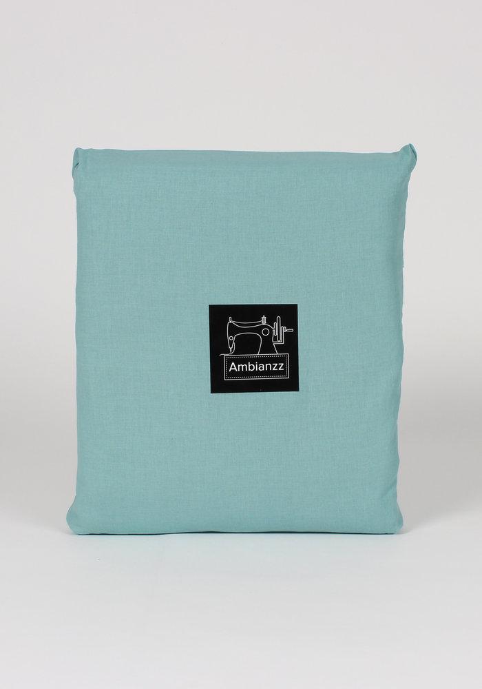 Duvet Cover Vintage Washed Cotton Groen