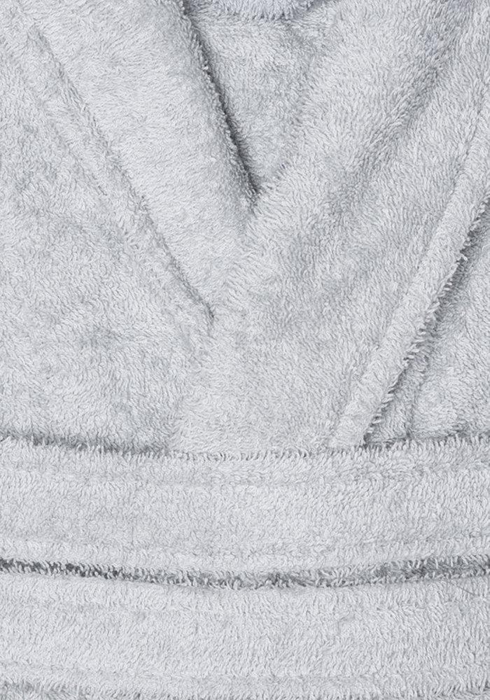 Bt Cotton Badjas Licht grijs