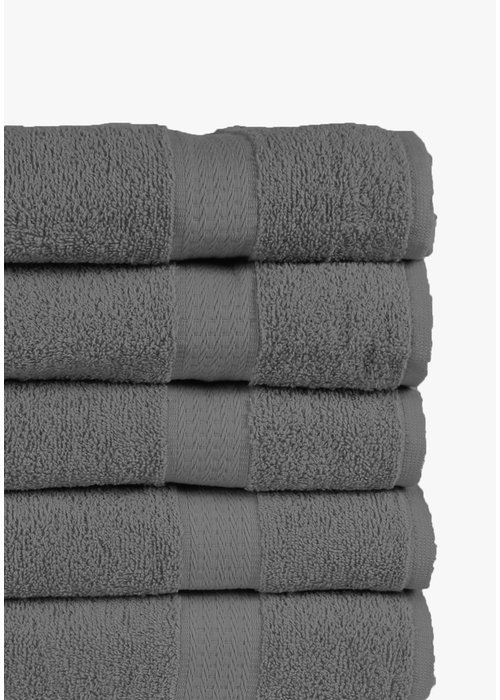 BT COTTON SMALL TOWEL ANTRACITE 5 PACK