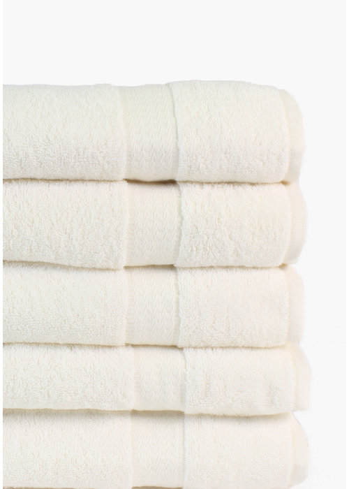 BT COTTON BIG TOWEL ECRU 5 PACK