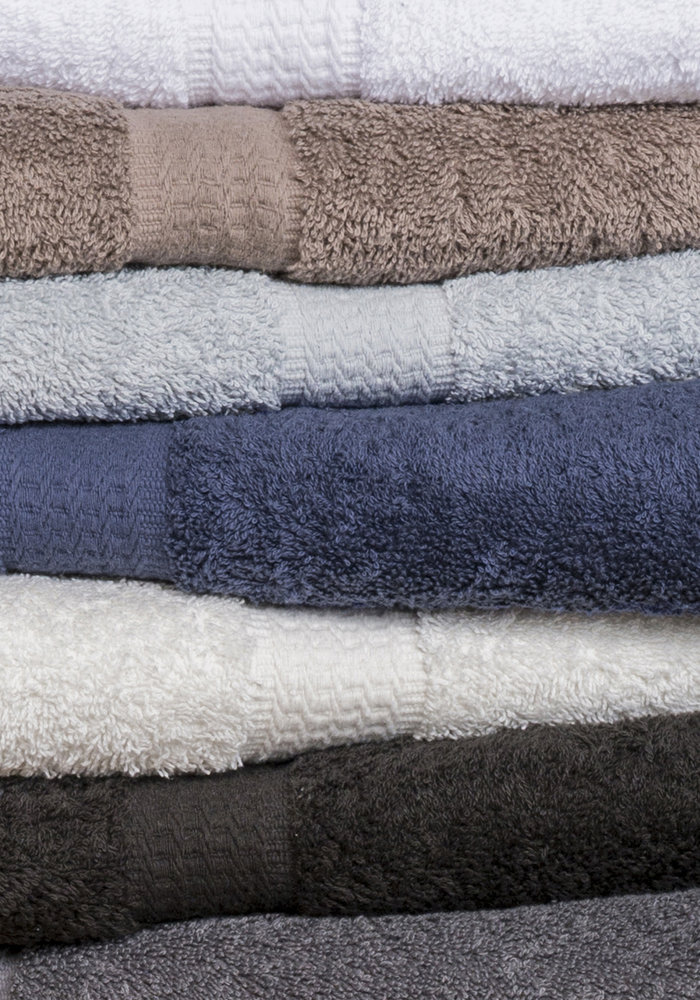 BT COTTON BIG TOWEL D BLUE 5 PACK