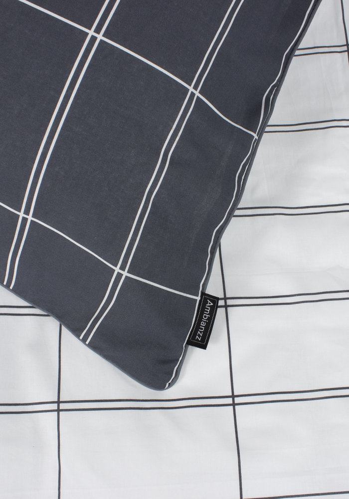 Duvet Cover Math Antraciet
