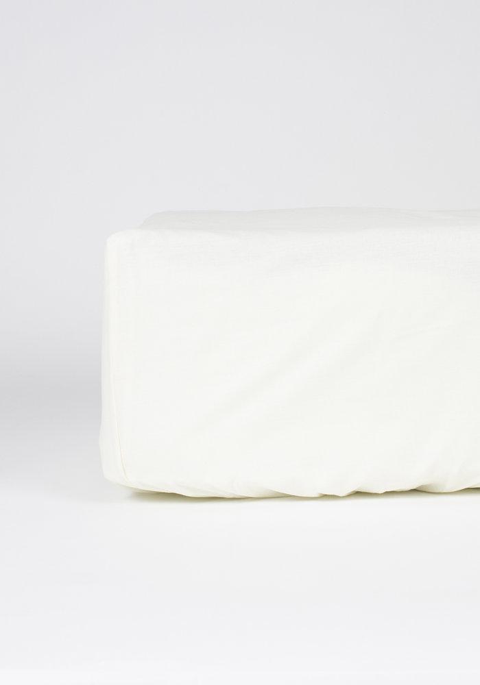 Hoeslaken Pierre Cardin Matras Ecru 28 cm Hoekhoogte
