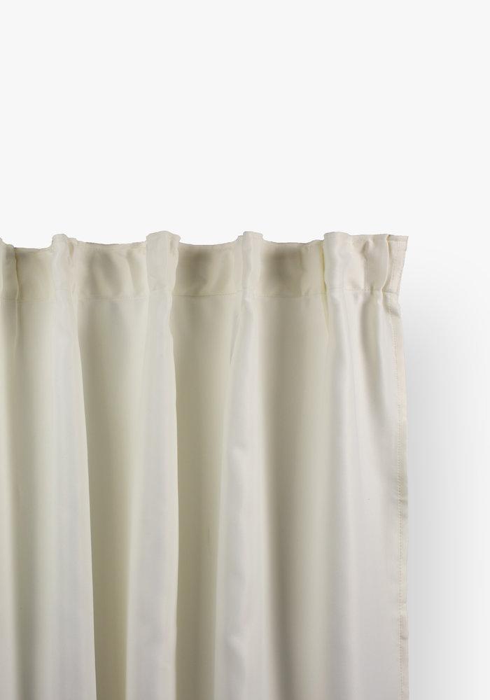 Curtain Blackout Hooks Off White