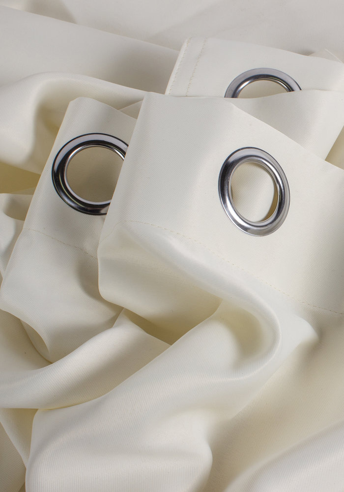 Curtain Blackout Rings Off White