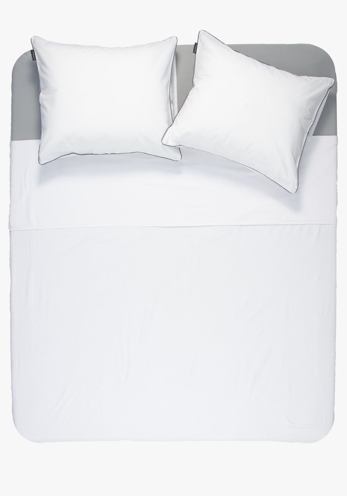 Duvet cover Cotton Solid White