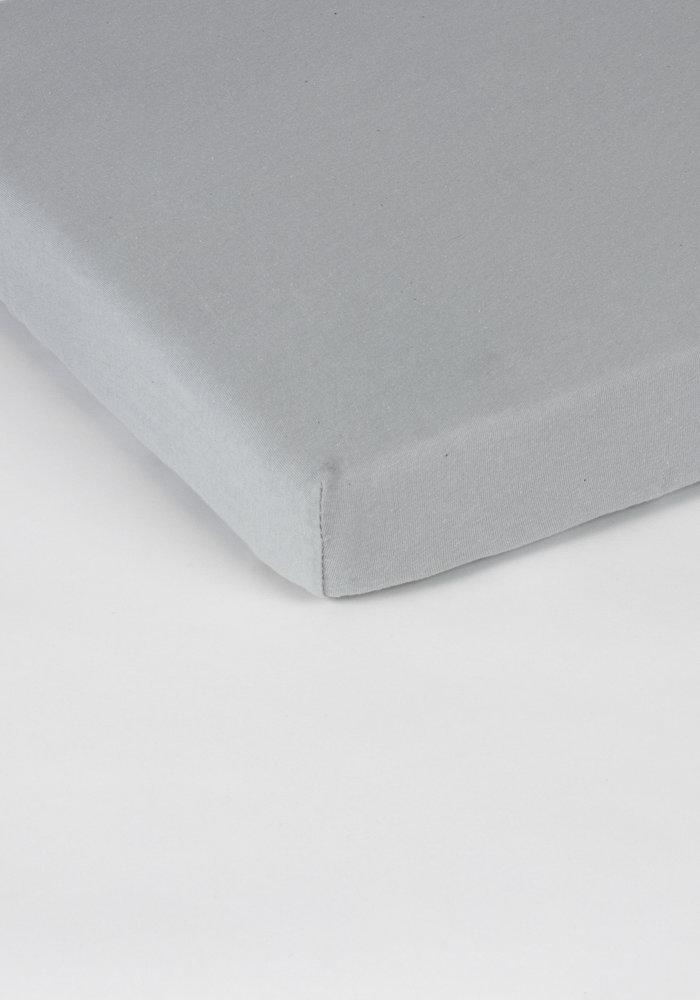Hoeslaken Splittopper Jersey L Grijs 15 cm Hoekhoogte