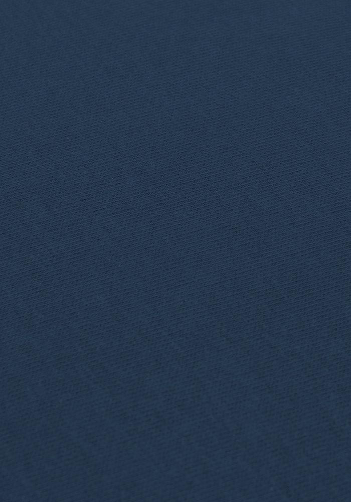 Hoeslaken Splittopper Jersey Marineblauw 15 cm Hoekhoogte