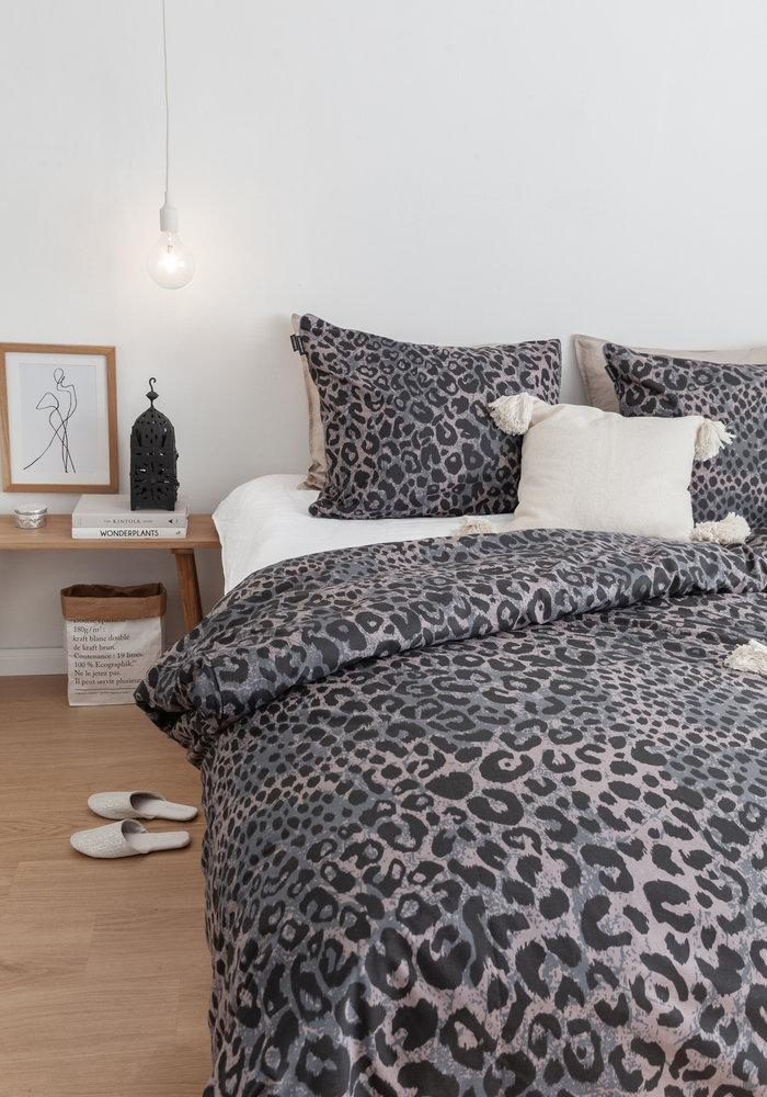 Dekbedovertrek Leopard Skin Blauw