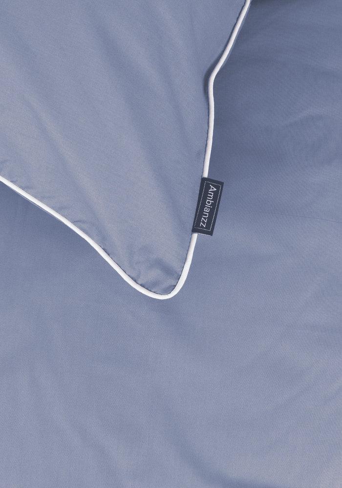 Dekbedovertrek Cotton Solid Blauw