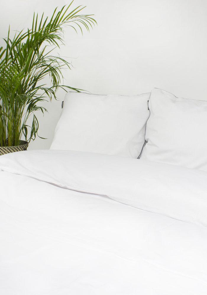 Duvet Cover Linnen Structures White