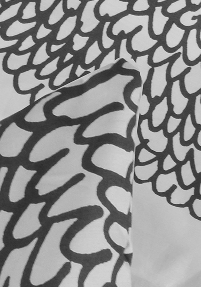 Dekbedovertrek Circkel Pattern Grijs