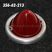 Tail light bezel for 356 Pre A (1951-52)