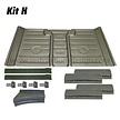 Kit H: 914 Rear Floor Pan Kit