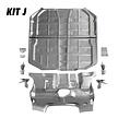 Kit J: Full Floor Pan Kit