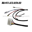RD-911-612-059-02 Intermittent Wiper Relay Harness