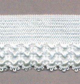 Elastische kant  off white