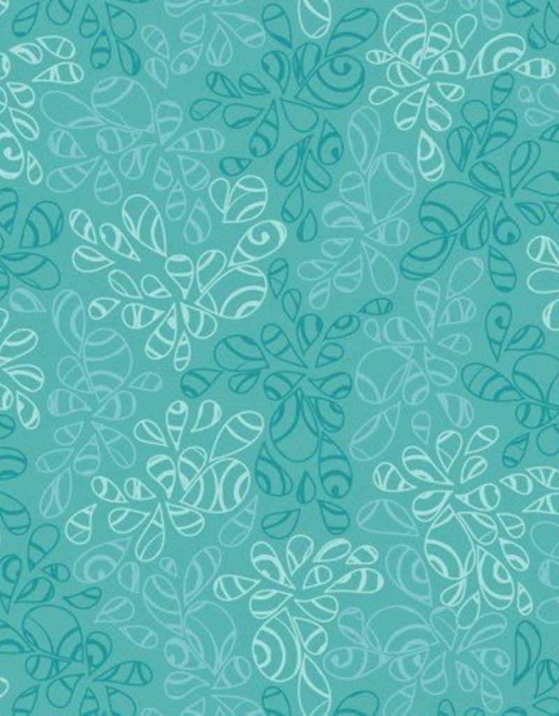 Art Gallery Fabrics AGF Seawater Nature Elements groen