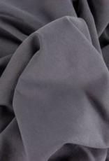 Maike Melange french terry donker grijs