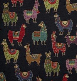 Lamas zwart