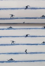 Jens wit streep surfer