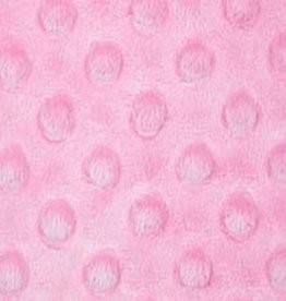 Minky dots  roze
