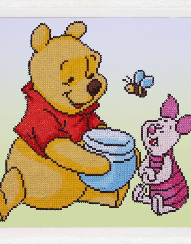 Diamond paint Winnie the pooh knorretje