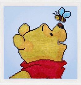 Disney Diamond paint Winnie the pooh met bij