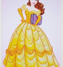 Diamond painting Belle