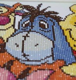 Disney Diamond painting Winnie the pooh en zijn vrienden