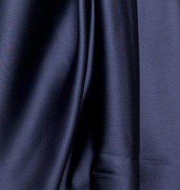 Donkerblauwe satijn