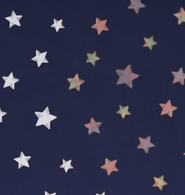 Magic softshell stars blauw