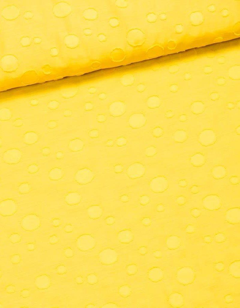 Bolletjes citroen geel
